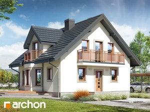 projekt Dom w rododendronach 5 (W)