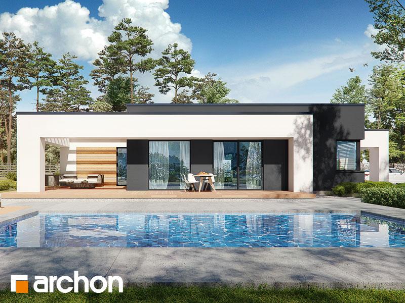 gotowy projekt Dom w renklodach 8 (G2) widok 1