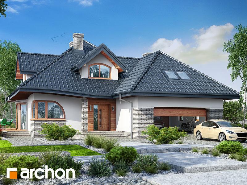 gotowy projekt Dom w zefirantach 4 (G2) widok 1
