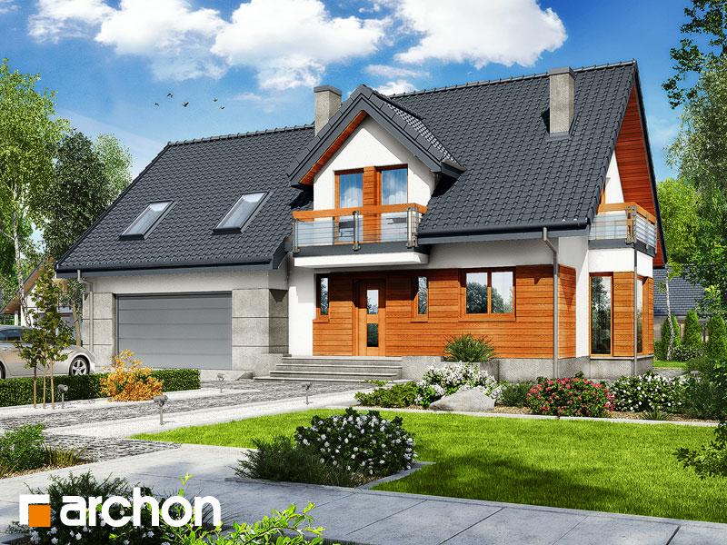 gotowy projekt Dom w tamaryszkach 10 (G2N) widok 1