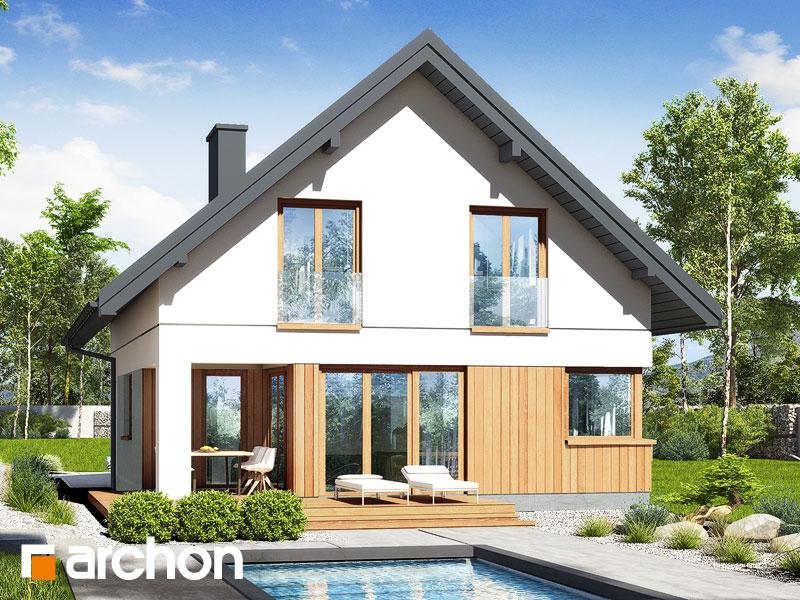 gotowy projekt Dom w zdrojówkach 10 widok 1