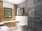 projekt Dom w cieszyniankach Wizualizacja łazienki (wizualizacja 3 widok 1)