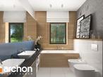 projekt Dom w cieszyniankach Wizualizacja łazienki (wizualizacja 3 widok 3)