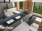 projekt Dom w cieszyniankach Wizualizacja łazienki (wizualizacja 3 widok 4)