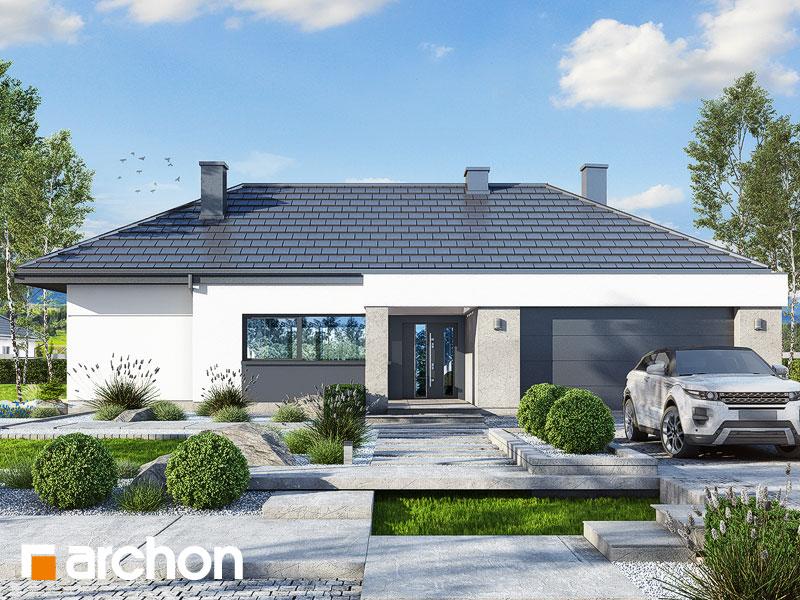 gotowy projekt Dom w nawłociach 3 (G2) widok 1