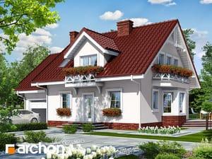 Projekt lustrzane odbicie dom w rododendronach 6 ver 3  252