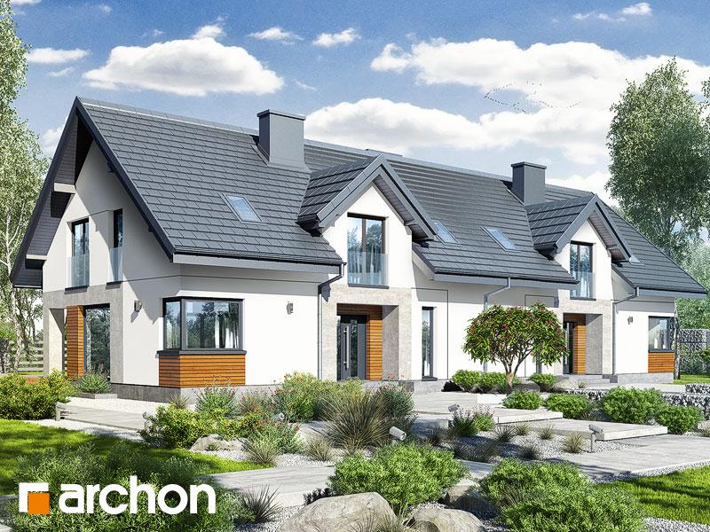 gotowy projekt Dom w srebrzykach 3 (R2T) widok 1