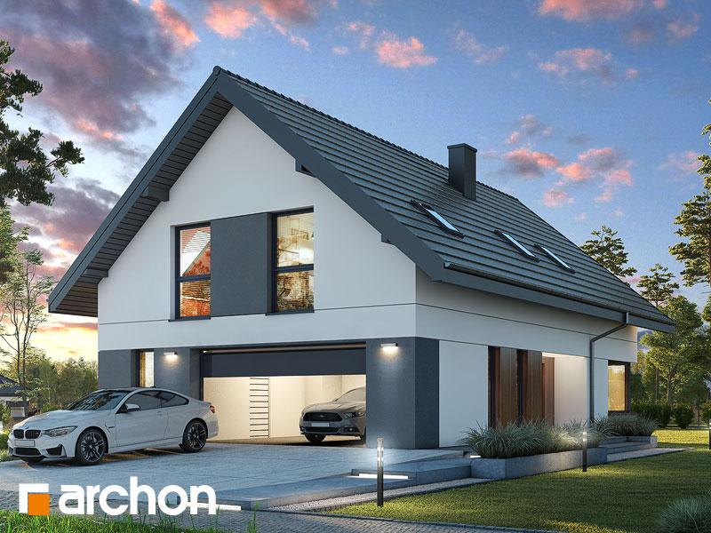 gotowy projekt Dom w idaredach 11 (G2A) widok 1