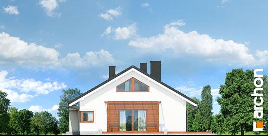 Elewacja boczna projekt dom pod jarzabem 17 n  266