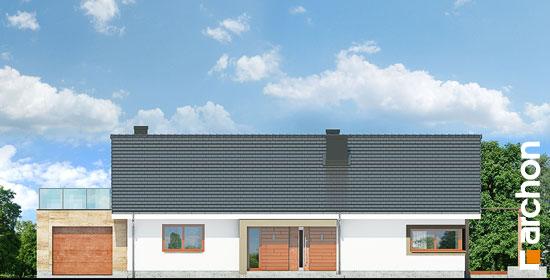 Elewacja frontowa projekt dom pod jarzabem 17 n  264
