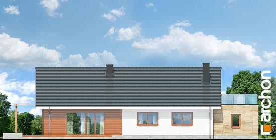Elewacja ogrodowa projekt dom pod jarzabem 17 n  267