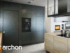 projekt Dom pod jarząbem 17 (N) Wizualizacja kuchni 1 widok 2