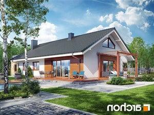 projekt Dom pod jarząbem 17 (N) lustrzane odbicie 2