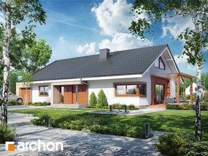 gotowy projekt Dom pod jarząbem 17 (N)