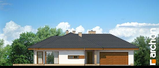 Elewacja frontowa projekt dom w amarantusach ver 2  264