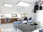 projekt Dom w amarantusach Aranżacja kuchni 1 widok 1