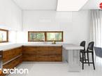 projekt Dom w amarantusach Aranżacja kuchni 1 widok 2