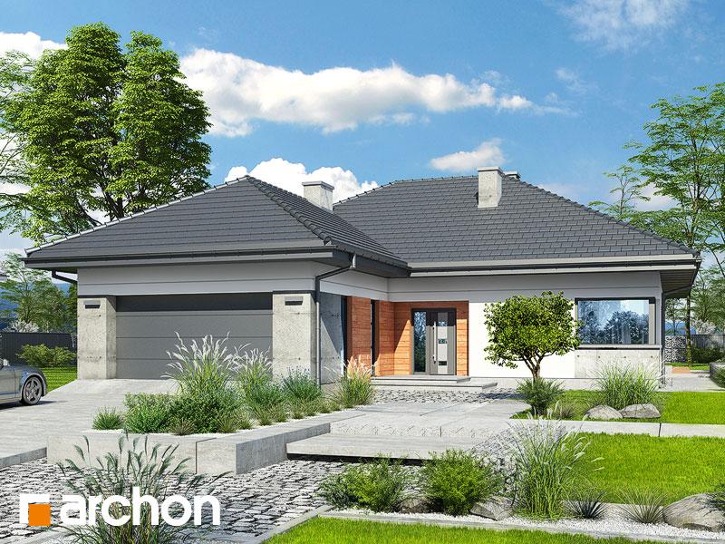 gotowy projekt Dom w żonkilach (G2) widok 1