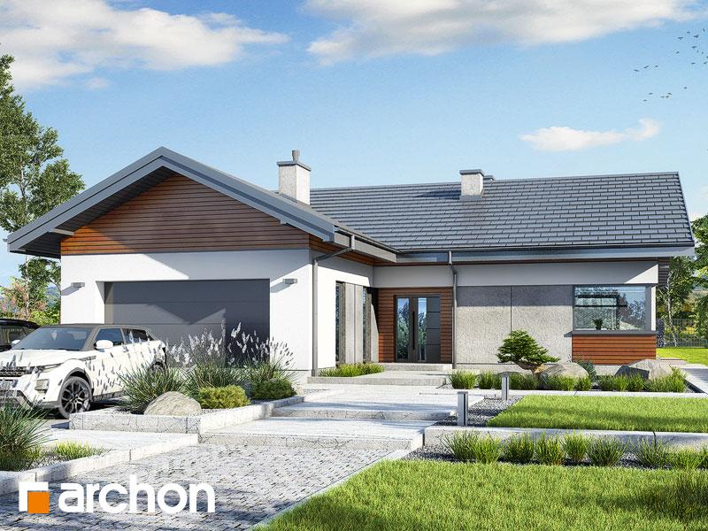 gotowy projekt Dom w żonkilach 2 (G2) widok 1