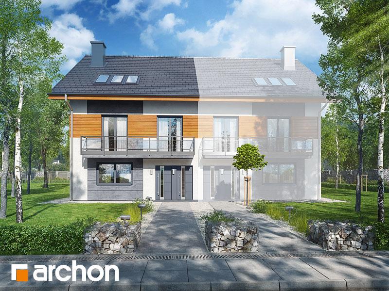 projekt Dom w kalwilach (B) widok 1