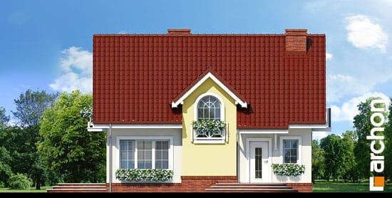 Elewacja frontowa projekt dom w lukrecji ver 2  264