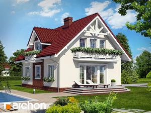 projekt Dom w lukrecji widok 2