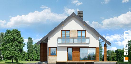 Elewacja boczna projekt dom w idaredach 3 p  265