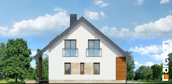 Elewacja boczna projekt dom w idaredach 3 p  266