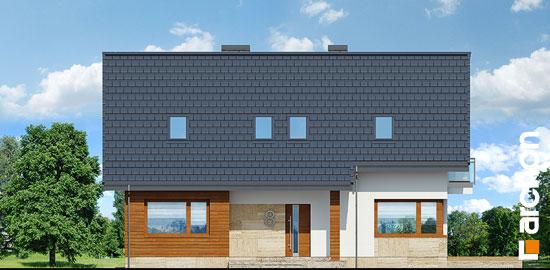Elewacja frontowa projekt dom w idaredach 3 p  264