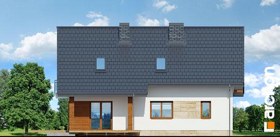 Elewacja ogrodowa projekt dom w idaredach 3 p  267