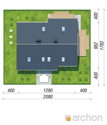 projekt Dom w idaredach 3 (P) sytuacja