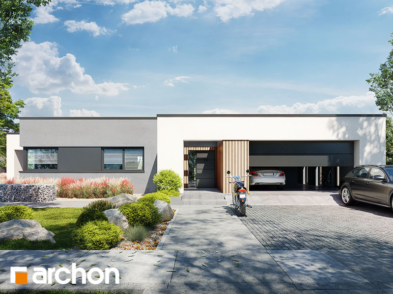gotowy projekt Dom w nawłociach 5 (G2) widok 1