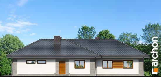 Elewacja boczna projekt dom w bergeniach 2 ver 2  265