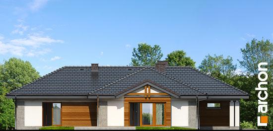 Elewacja boczna projekt dom w bergeniach 2 ver 2  266