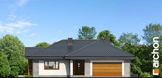 Elewacja frontowa projekt dom w bergeniach 2 ver 2  264