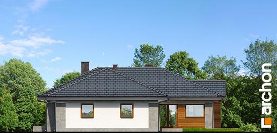 Elewacja ogrodowa projekt dom w bergeniach 2 ver 2  267