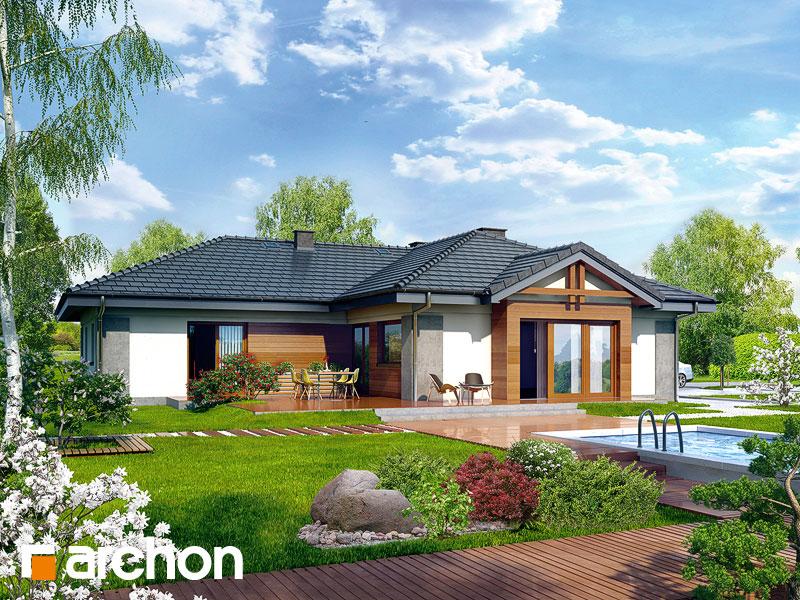 gotowy projekt Dom w bergeniach 2 widok 1