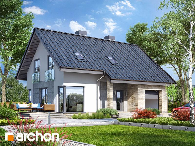 gotowy projekt Dom w żurawkach 3 (P) widok 1