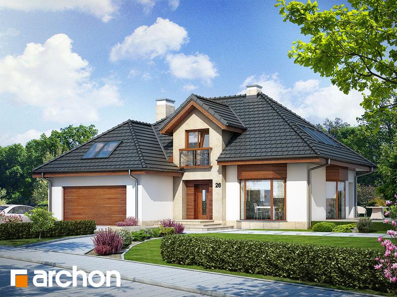gotowy projekt Dom w kalateach 4 widok 1