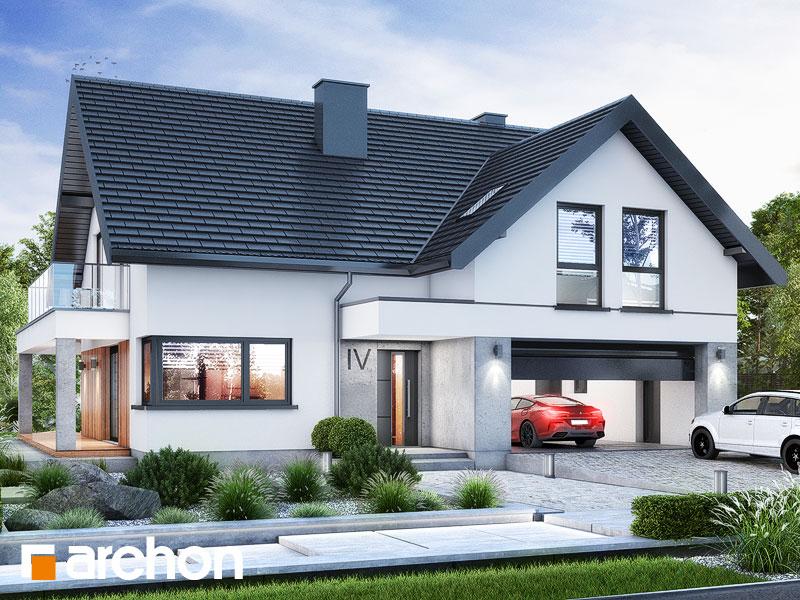 gotowy projekt Dom w nefrisach 2 (G2) widok 1