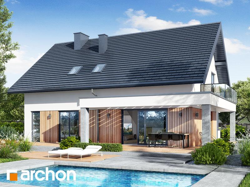 gotowy projekt Dom w nefrisach 2 (G2) widok 2