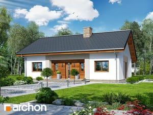 gotowy projekt Dom w kostrzewach