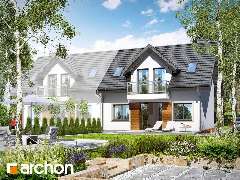 gotowy projekt Dom w rubinach 2 (B) widok 1