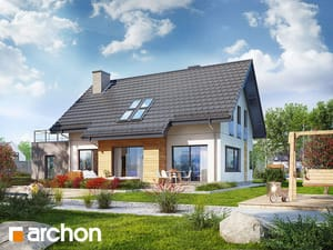 gotowy projekt Dom w hostach