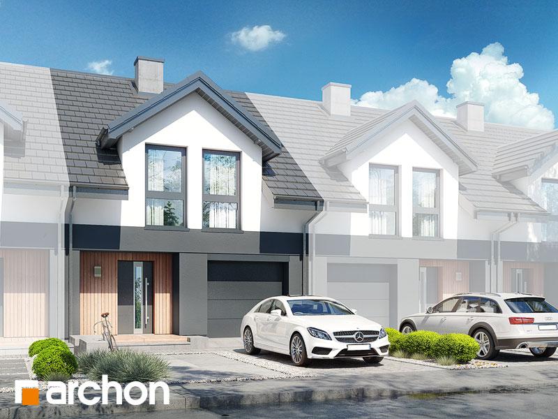 gotowy projekt Dom pod miłorzębem 19 (GS) widok 1