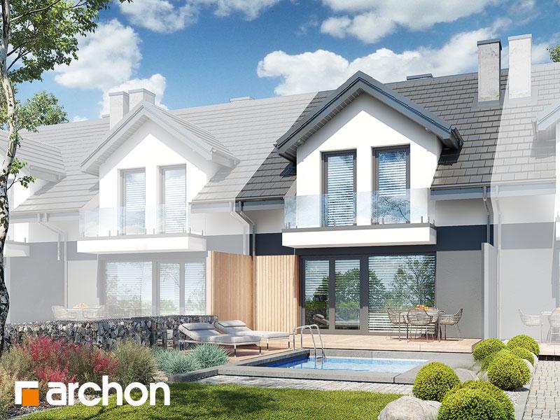 gotowy projekt Dom pod miłorzębem 19 (GS) widok 2