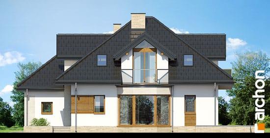 Elewacja boczna projekt dom pod wiazowcem n ver 2  265