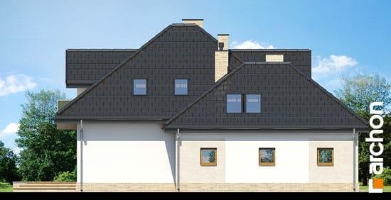 Elewacja boczna projekt dom pod wiazowcem n ver 2  266
