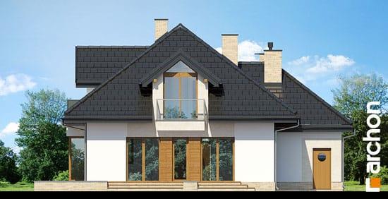 Elewacja ogrodowa projekt dom pod wiazowcem n ver 2  267