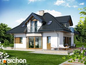 projekt Dom pod wiązowcem (N) widok 2